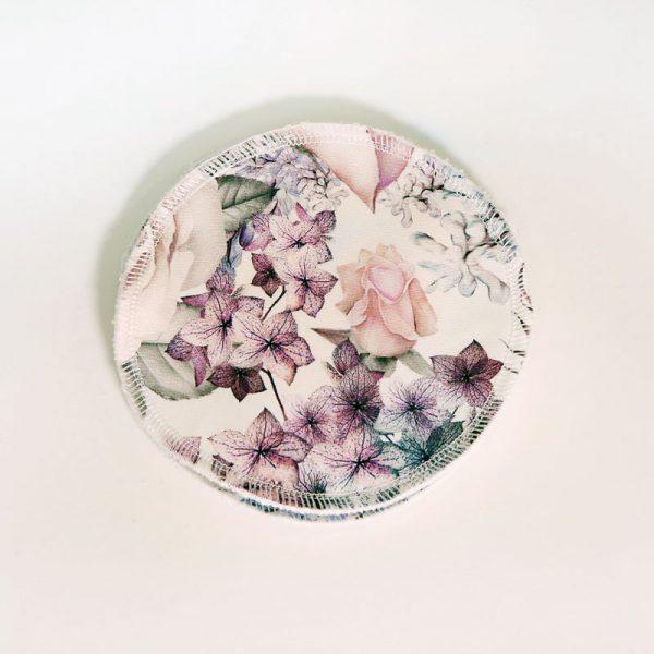 Pastel roses nursing pads