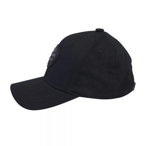 Side view of black phantom renegade baseball cap
