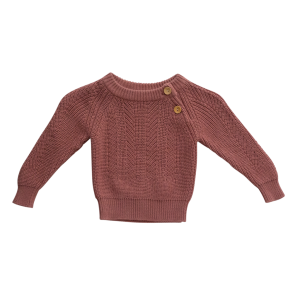 Terracotta Sweater baby and Kids knit