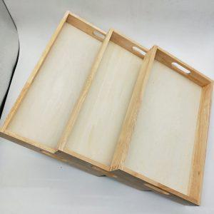 Montessori Nesting trays empty